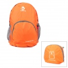 Hasky CY-0973 Nylon Frameless Folding Backpack - Orange (28L)