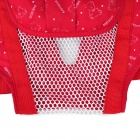 6-in-1 Comfortable Cotton Baby Carrier Sling - Red + White