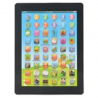 2929 Soft Touch Tablet PC Style Spanish Learning Machine - Multicolored (3 x AA)