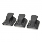 PA0208 Speed Plate Magazine Base Pad for M4 - Black (3 PCS)