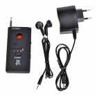 CC308+ Multifunction Radio Detector w/ Antenna + Earphone - Black