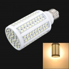 Tongdei Corn Shape E27 8W 750lm 3500K 168-SMD 3528 LED Warm White Bulb - White (AC 220~240V)