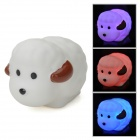 3-LED Colorful Light Sheep Toy - White