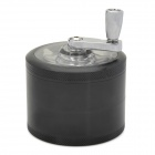 Aluminum alloy Hand-Cranking Four-Layer Cigarette Tobacco Grinder