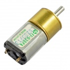 N220-16 15.5mm 6V 70RPM High Torque Brass Gear Motor - Silver + Golden