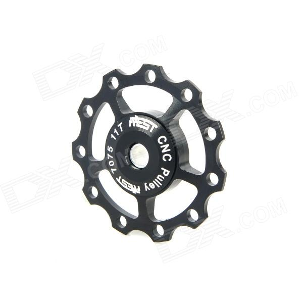 AEST YPU09A-13 Aluminum Alloy Bike 11T Rear Derailleur Pulley - Black