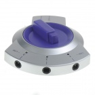 AP-LINK Optical Fiber Switches Selector - Blue + Silver
