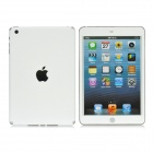 Protective Clear Front Screen + Back Skin Protector Films for iPad Mini - White (2 PCS)