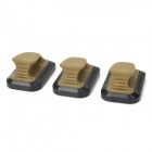 PA0207 G17 Clip Quick Draw - Army Green + Black (3 PCS)