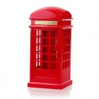2075 Classical UK Red Telephone Box Style Music Box