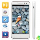 "iSA A19Q Quad Core Android 4.2.1 Phone w/ 4.7"" Capacitive Screen, Wi-Fi, GPS and Dual-SIM - White"