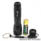 SMALL SUN ZY-560 LED 12lm 2-Mode Cold White Flashlight w/ Strap - Black (1 x AA)