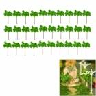 G6030 Decoration Tree Models - Green (21 x 16 x 1cm / 30 PCS)