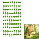 G3010 Decoration Tree Models - Green (15 x 10 x 1cm / 100 PCS)