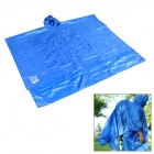 Aotu ao289 3-in-1 Multifunktions-Outdoor Camping wasserdichte Regenjacke Tent Pad - Blue