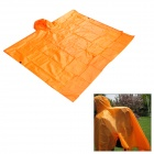 Aotu ao289 3-in-1 Multifunktions-Outdoor Camping wasserdichte Regenjacke Tent Pad - Orange