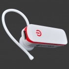 Sílaba D50-002 Bluetooth3.0 auricular manos libres para Iphone + Ipad - Rojo + Blanco