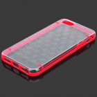 NEWTONS I5 Protective Plastic Back Case for Iphone 5 - Red + Transparent