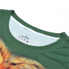 TA08 Release Moisture Wicking Quick Drying Polyester T-Shirt - Green (Free Size)