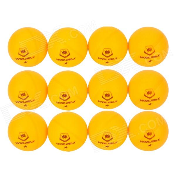Winmax WMY06166 Sport 40mm Table Tennis Balls - Yellow (12 PCS) beko wmy 91443 lb1
