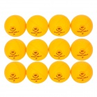 Winmax WMY06166 Sport 40mm Table Tennis Balls - Yellow (12 PCS)