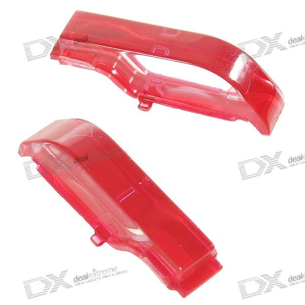 Replacement Red Shoulder L+R Buttons for PSP Slim/2000 (2-Piece Set)
