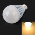 ! H WIN HBL10 E27 10W 700lm 3100K 39-SMD 5630 LED Warm White Lampe - Silber + Weiß (AC 100-240V)