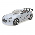ZhenCheng 333-P004 1:10 2-CH R/C Car w/ Remote Controller - White + Black