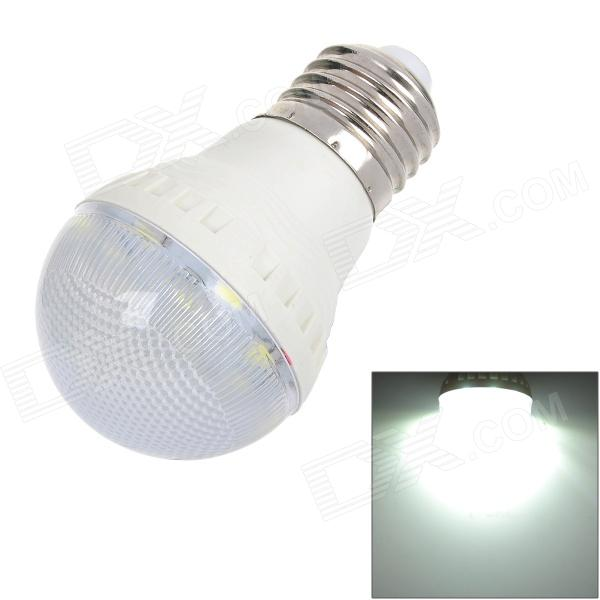 GePai E27 3W 190lm 6700K 12-SMD 5050 LED White Light Bulb - White (AC 170 ~ 240V)