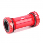 AEST YBB-03 Aluminum Alloy Bicycle Bottom Bracket - Red