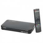 F5 1080P HD PVR DVB-S / S2 Digital Satellite Receiver w / TV / RS232 / USB / RJ45 - Black