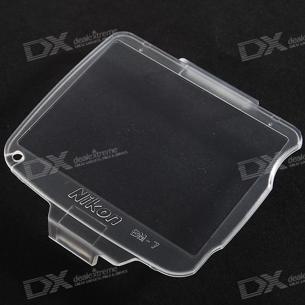 Snap-on Hard Screen Protector Cover for Nikon D80 Digital SLR Cameras
