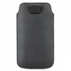 Protective PU Leather Case for Samsung Galaxy S4 i9500 - Black