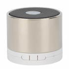 A102C 3W Bluetooth V2.0 1-Channel Speaker w/ Microphone for Iphone 4 - Silver + White + Black