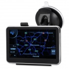 "4.3"" Resistive Screen WinCE 6.0 Car GPS Navigator w/ Europe Map / Built-in 4GB Memory - Black"