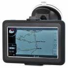 "ST-802-2 4.3"" Resistive Screen WinCE 6.0 Car GPS Navigator w/ Brazil + Argentina Map / 4GB"