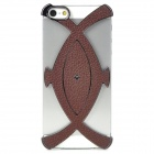 Creative 3D Fish Style Protective Decorative Back Cover Case for Iphone 5 - Brown + Black