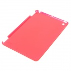 Protective Plastic Back Case for Ipad MINI - Translucent Watermelon Red