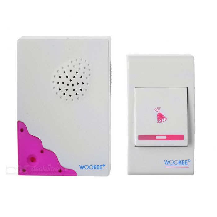 Remote Controlled Digital Doorbell (23A Battery Powered)