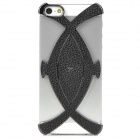 Creative 3D Fish Style Protective Decorative Back Cover Case for Iphone 5 - Black