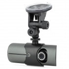 "X3000HD 3.0MP Dual Lens Wide Angle Car DVR Camcorder w/ TF / AV-Out - Black (2.7"" TFT)"