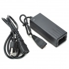USB 2.0 to SATA / IDE Data Cable w/ 2-Flat&1-Round Pin Plug Power Adapter - Black + Silver (55cm)