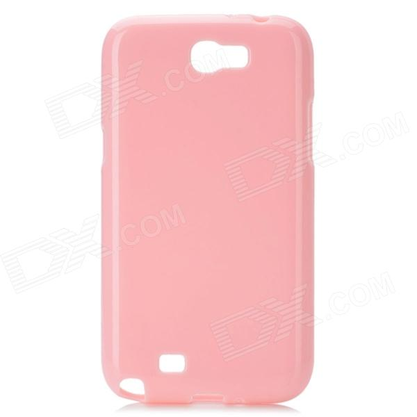 Protective TPU Back Case for Samsung Galaxy Note 2 N7100 - Light Pink protective tpu back case for samsung galaxy note 2 n7100 white