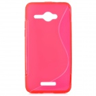 """S"" Style Protective TPU Case für HTC Schmetterling Ein X5 J / Butterfly X920e - Red"