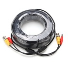 High Quality BNC Video and Power Extension Cable -Black (30M)