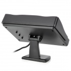 "4.3"" Monitor + 2.4GHz Wireless Car CMOS License Rearview Camera Kit w/ 7-LED IR Night Vision - Black"