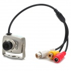 CMOS Color Surveillance Security Camera with 6-IR LED Night-Vision - PAL (6V~9V DC)
