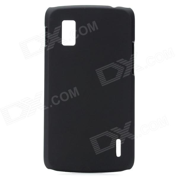 Ultrathin Protective PC Back Case for LG E960 Nexus 4 - Black protective silicone back case for lg nexus 4 e960 purple