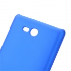 Ultrathin Protective PC Back Case for Nokia Lumia 820 - Blue