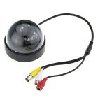 Dome CMOS Color Surveillance Security Camera with 12-IR LED Night-Vision - PAL (12V DC)